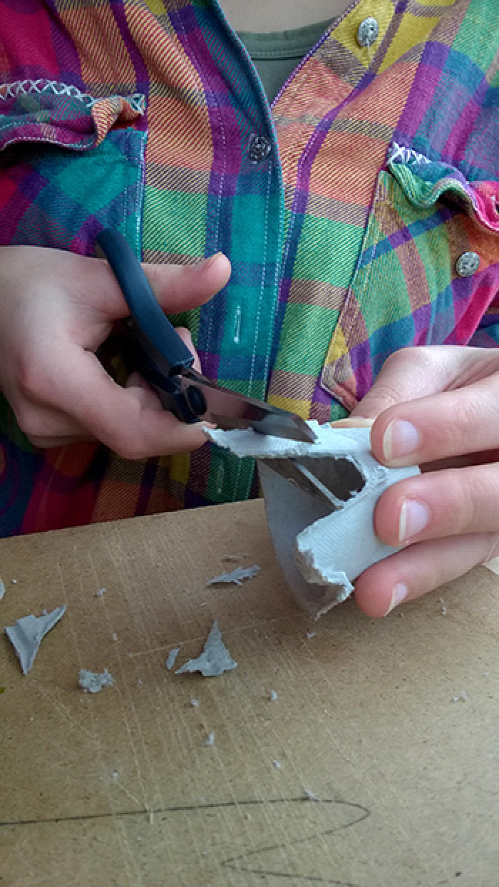 nehéz gyerekekkel tél pingvin tojástartó kreatív újrahasznosítás recycle festés együtt DIY játék olcsó
