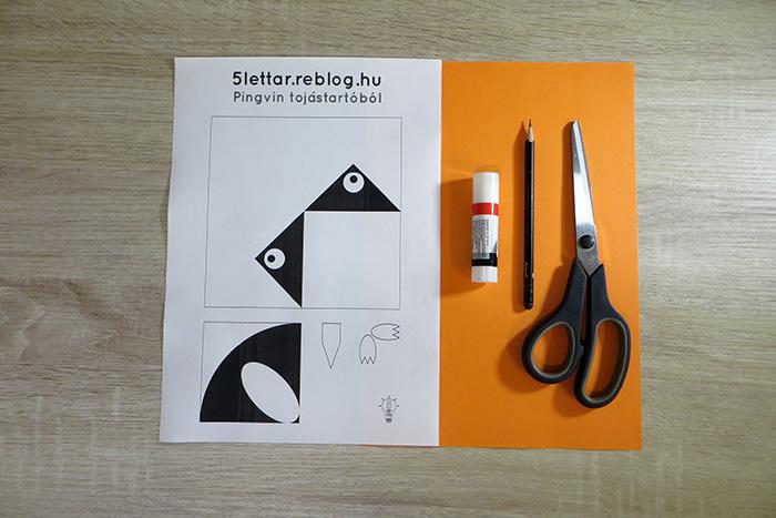 könnyű gyerekekkel olcsó pingvin DIY karton könyvjelző tél gyors család kreatív együtt origami