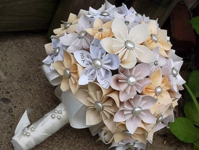 DIY kusudama origami ajándék nőnap dekoráció papír kreatív ötletek könnyű újrahasznosítás virág gyerekekkel tavasz