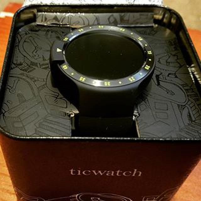Ticwatch S Mobvoi Android Wear okosóra smartwatch