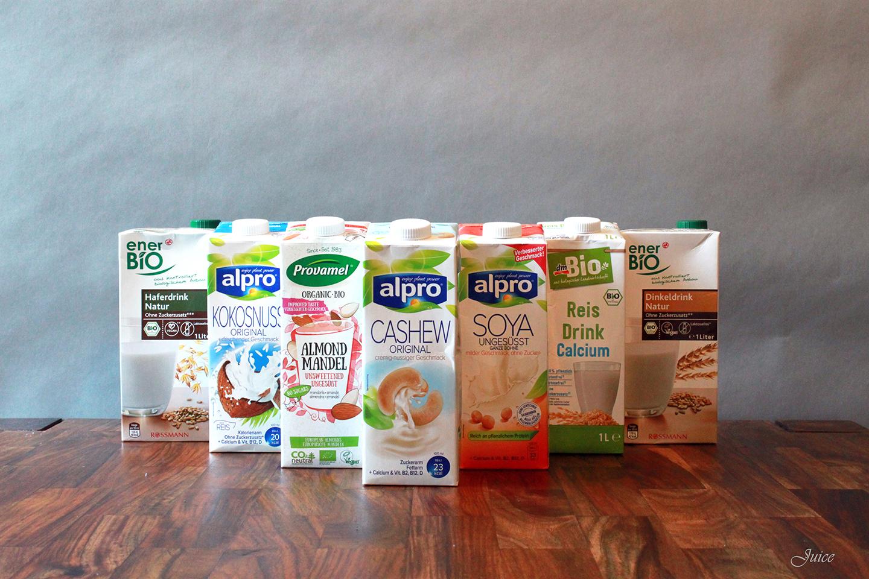 Növényi tej teszt - Tudd meg, melyik a legjobb! - juice