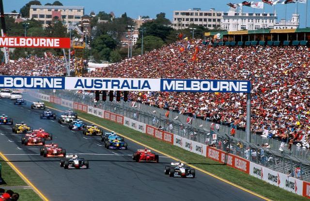 1998 Ausztrál Nagydíj Melbourne Mika Häkkinen David Coulthard Ron Dennis Adrian Newey