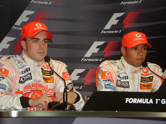 Fernando Alonso Flavio Briatore Renault Ferrari McLaren