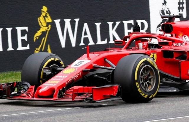 Ferrari 13. győzelem Vettel Ascari Lauda Schumacher