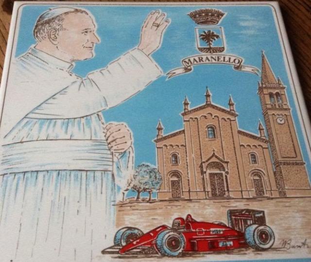 Ferrari Enzo Ferrari Maranello II. János Pál