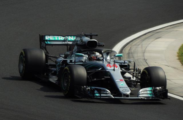 2018  Magyar Nagydíj Hungaroring Lewis Hamilton