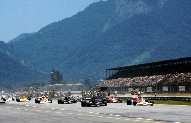 Copersucar Brazília Emerson Fittipaldi Wilson Fittipaldi 1978. Brazil Nagydíj