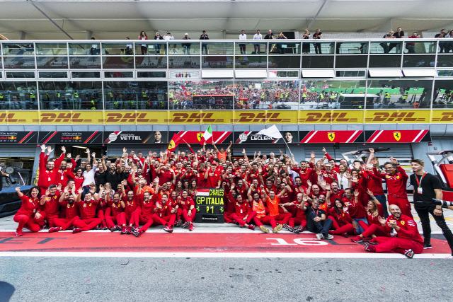 Ferrari Leclerc Vettel 2019
