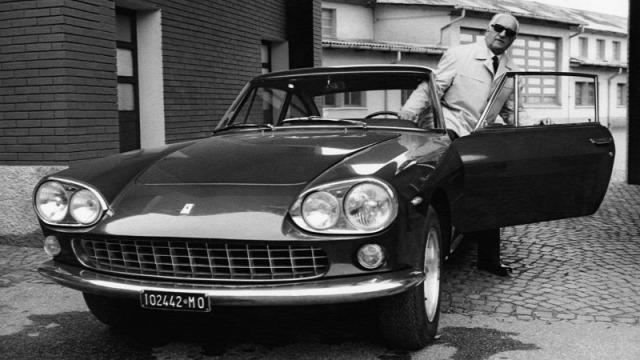 Enzo Ferrari 1988