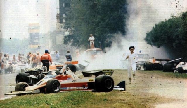 Ronnie Peterson Monza 1978 Mario Andretti Lotus