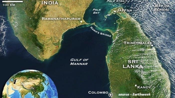 Ádám hídja Ráma hídja Rama Sethu India Srí Lanka legenda rejtély kultúra régészet építészet misztikus helyek