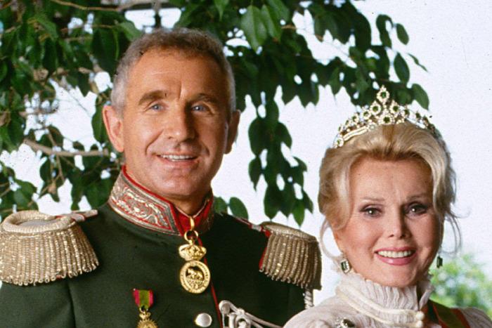 Frédéric von Anhalt herceg Hans Robert Lichtenberg Gábor Zsazsa Hollywood szórakozás sztárok  starlight