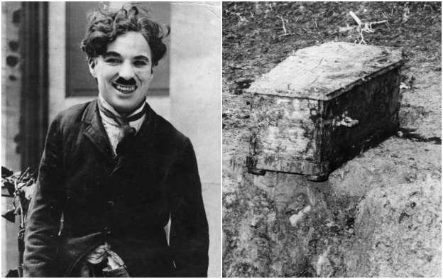 Perampokan Mayat Charlie Chaplin Yang Penuh Komedi