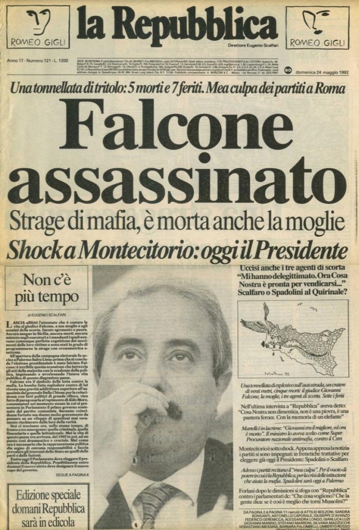 maffia szervezett bűnözés bűnüldözés Giovanni Falcone Paolo Borsellino Tomasso Buscetta keresztapa starlight sztárok megtörtént eset igaz történet true story film
