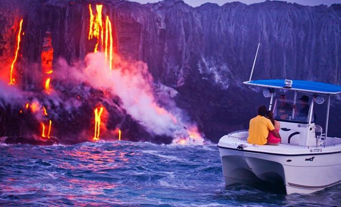 extrém vakáció sokkturizmus katsztrófaturizmus bungee jumping Ojmjakon Vorkuta Gulag Északi-sark Dast-e Lut Villarrica vulkán Hawaii Kilauea vulkán űrturizmus Krimihotel DasPark Hotel nyár starlight