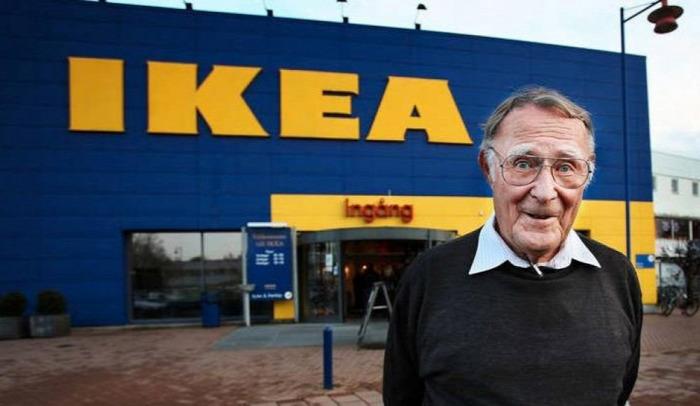Ingvar Kamprad IKEA svéd Svédország lakberendezés starlight true story