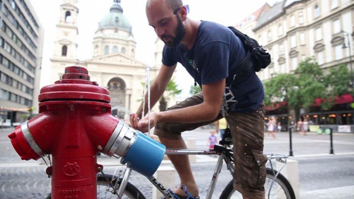 ivócsap ivóvíz nyár Ivócsap Project hőség