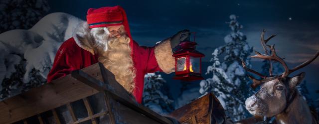 Mikulás Santa Claus Szent Miklós Joulupukki Lappföld Rovaniemi Eleanor  Roosevelt starlight ffe31c8102