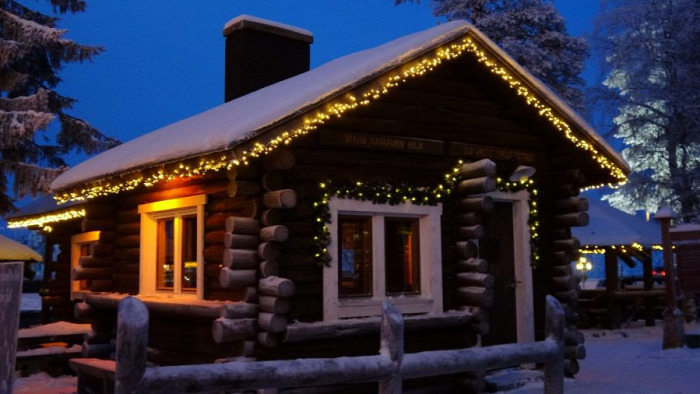 Mikulás Santa Claus Szent Miklós Joulupukki Lappföld Rovaniemi Eleanor Roosevelt  starlight