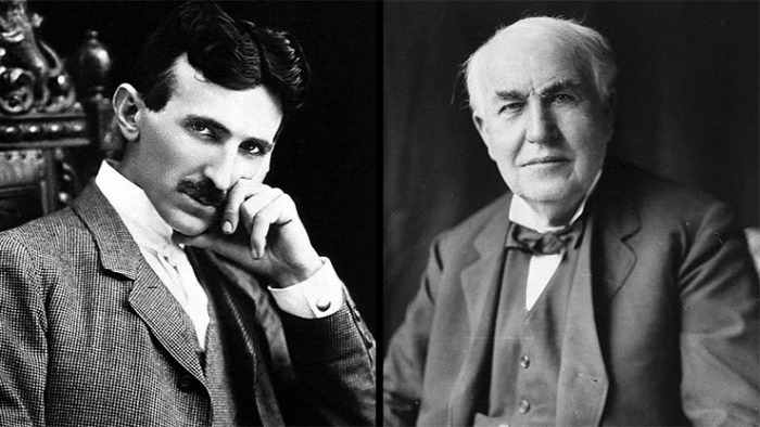 Nikola Tesla Thomas Alva Edison feltaláló  tudomány kultúra true story starlight