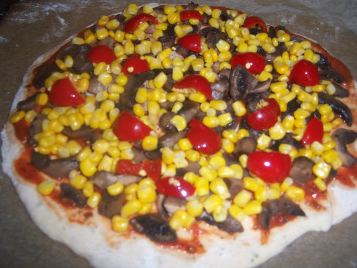 pizza halas pizza gombás pizza