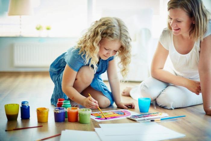 baba gyerek teszt kreativitás kids