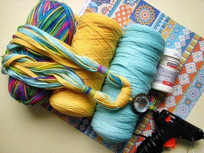 pólófonal  textilékszer