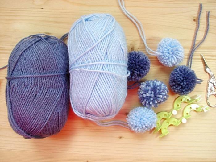 textiléxer  csak három hozzávaló pompon