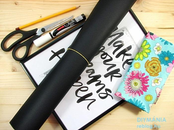 5percesek üzenőtábla textil ajándék anyák napja faledkoráció
