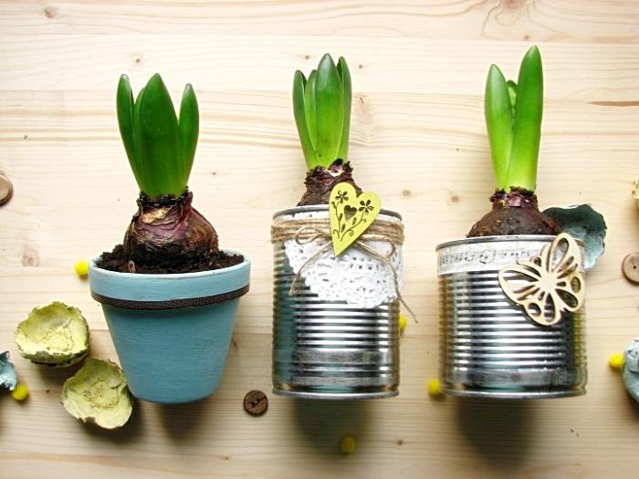 tavasz virág újrahasznos