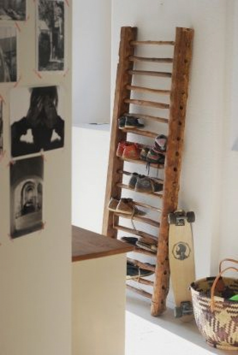DIY  létra  kreativitás  lakberendezés