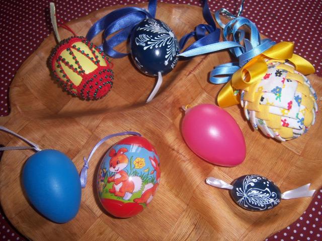 húsvét tojásfa dísz