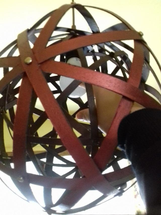 loft gömblámpa