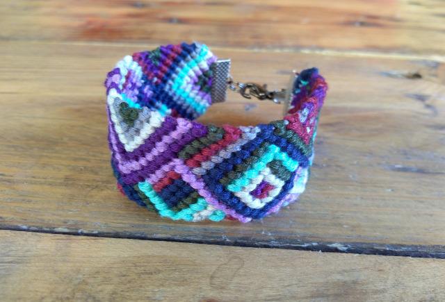 DIY karkötő csomózás makramé színek színtanácsadás
