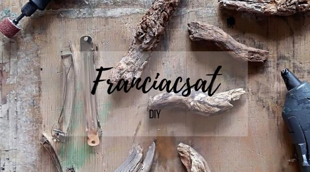 DIY csinaldmagad fa franciacsatt haj