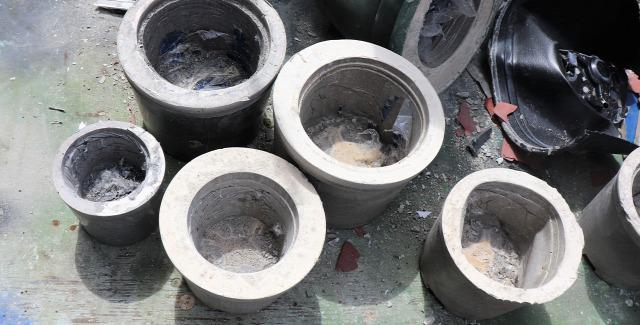 DIY betonkaspó beton kert Kálmánnalazélet csináldmagad