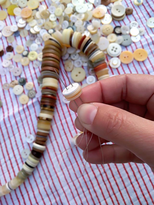 DIY csinaldmagad nyaklánc gomb