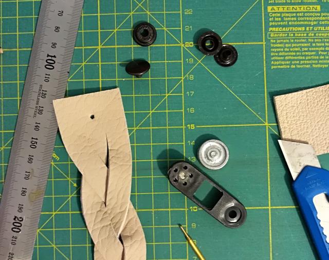 DIY csináldmagad karkötő bőr ékszer