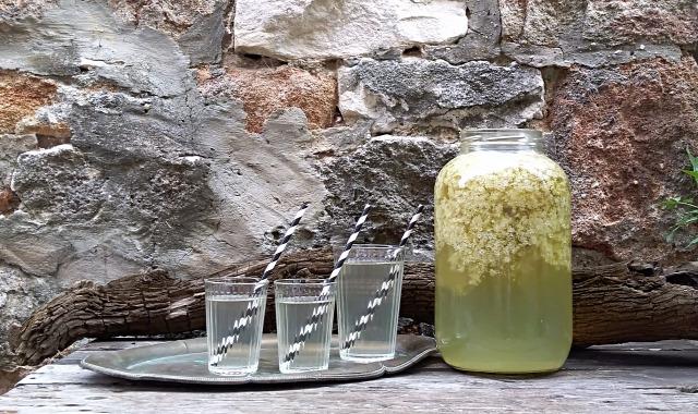 DIY csináldmagad bodza kert gastro szörp