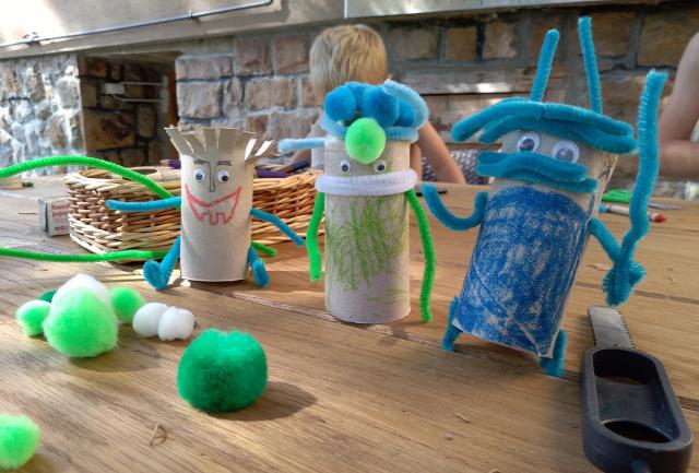 DIY csináldmagad Wc-papír guriga papír játék gyerekkel