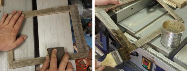 DIY csináldmagad fa falikép Kálmánnalazélet
