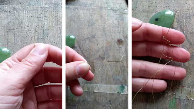 DIY csinaldmagad ékszer nyaklánc ásvány