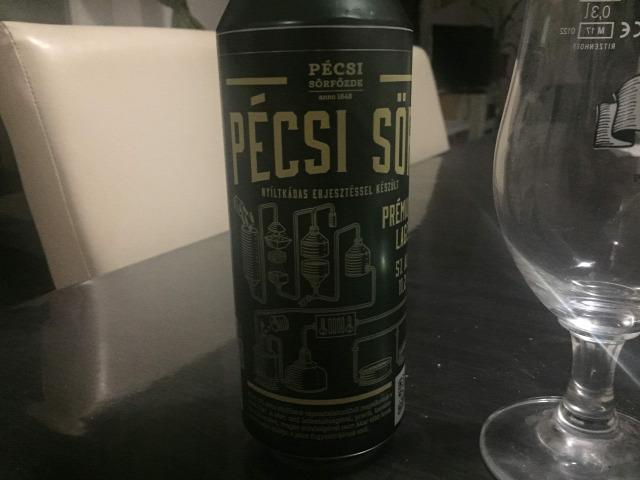Pécsi sör  Premium lager  nagyüzem  kráter  Lager  kraft sör  komló  maláta  élesztő