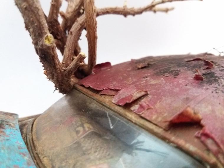 azsgrafiklab diorama diy abandoned miniatures barnfind diorama chrysler300b weathered models