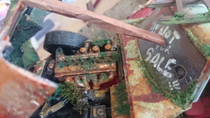 diy model makett scale  diorama ingredients 1/18 1/24