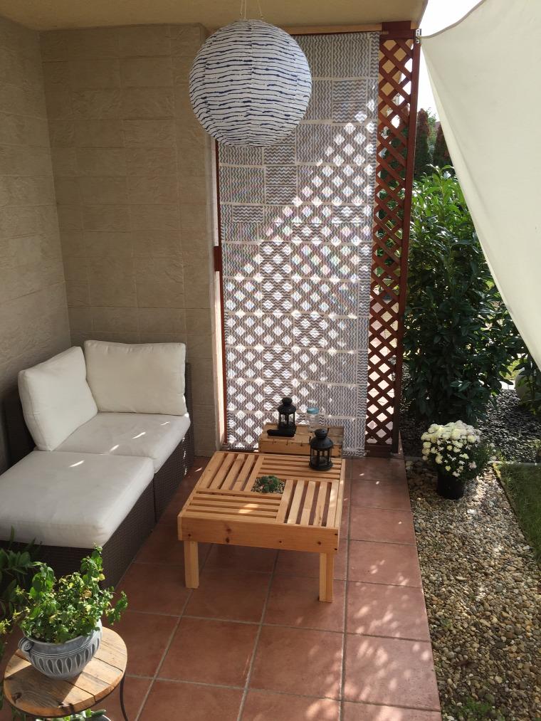 asztal fa kert terasz DIY