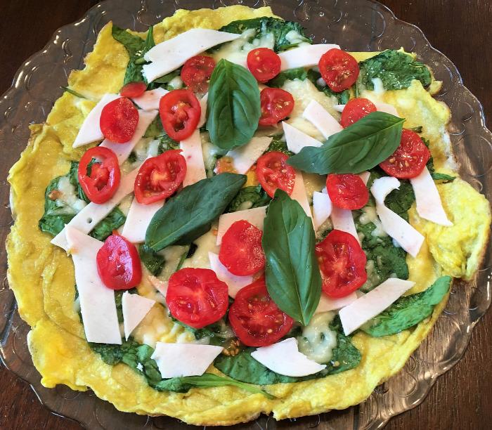 hétvége reggeli tojás bébispenót gyors egyszerű laktató