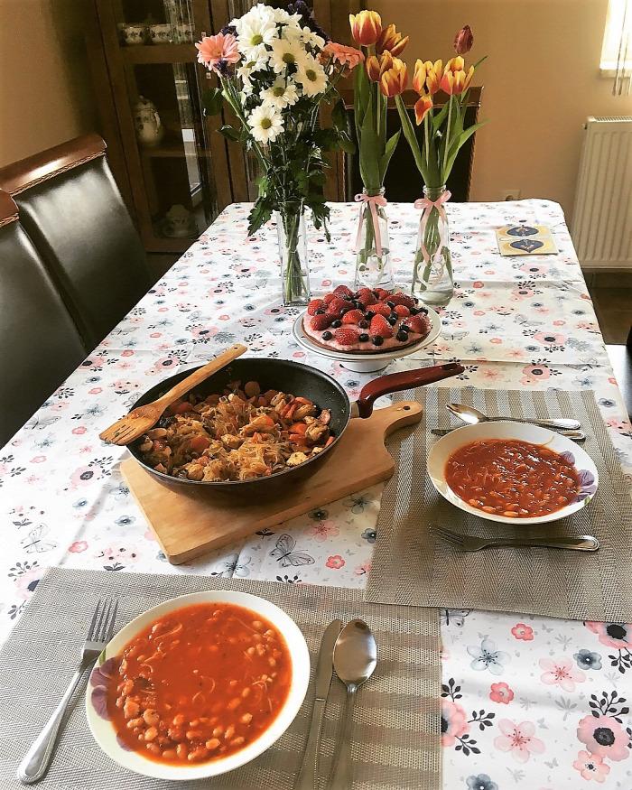 bableves finom egészséges gluténmentes laktózmentes könnyed tavaszi
