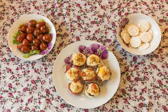 sonka tojás sonkás tojás muffin reggeli hosszú hétvége finom gyors egyszerű
