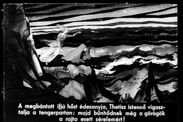 Trója Homérosz illusztrációk